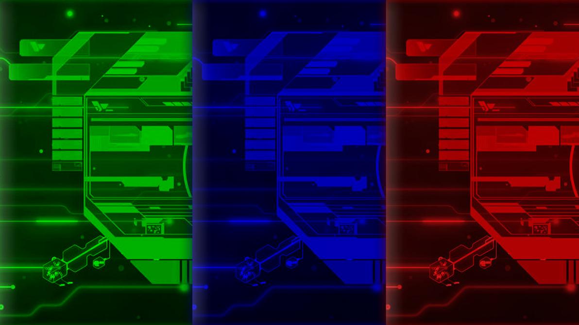 TekFace Multicolor by Thyrring