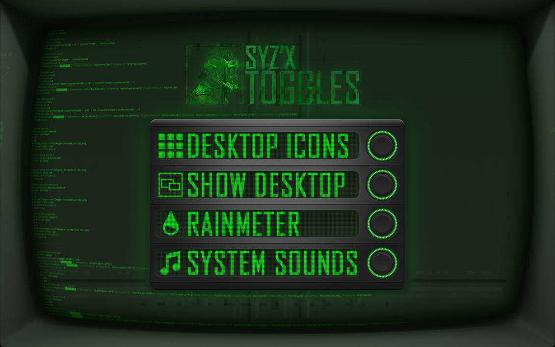 SYZX For Rainmeter by StArL0rd84