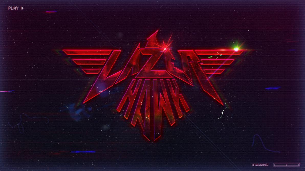 LazerHawk Logo Wallpaper by StArL0rd84