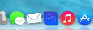 Apple OS Icons (iOS 7 Style)