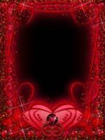 Garnet Red Frame by juliazip