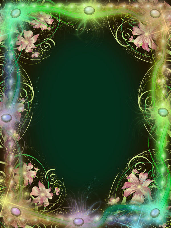 Magic Spring Frame by juliazip on DeviantArt