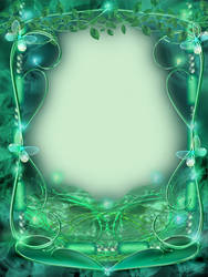 Emerald Frame by juliazip