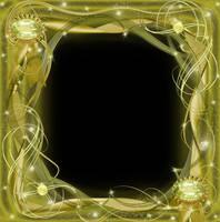 Golden Frame by juliazip