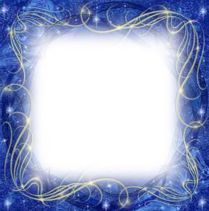 Blue Winter Frame