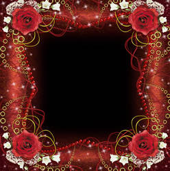 Red Gipsy Frame by juliazip
