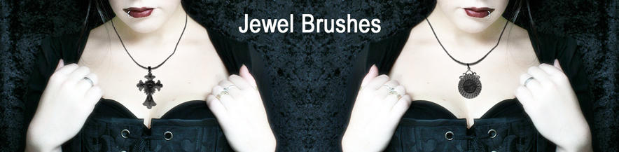 Jewel brushes. by Kittyd-Stock
