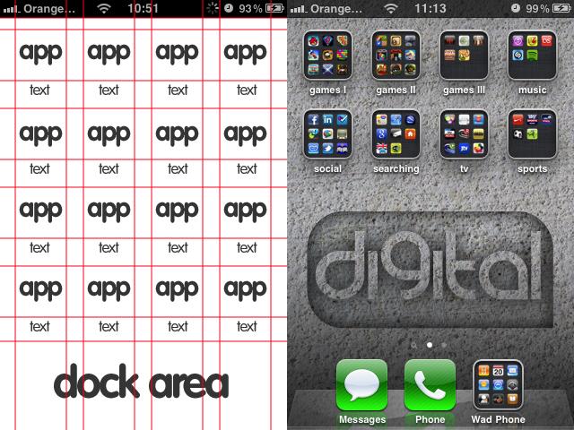 Iphone Ipod Wallpaper Template By Bushwad On Deviantart