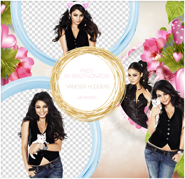 Png's Vanessa Hudgens by Beauty-of-Rose