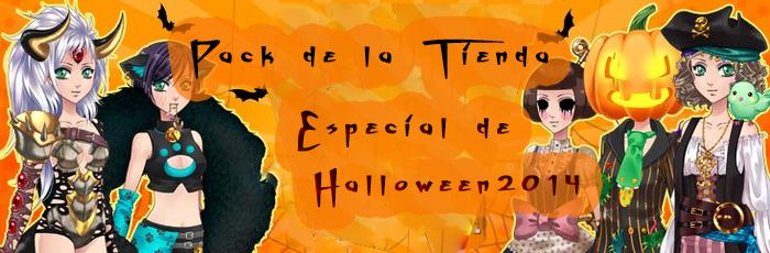 Pack  de la tienda especial de Halloween 2014 by nasuki18
