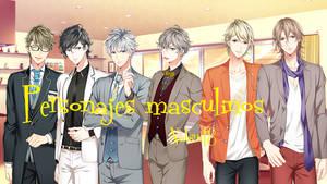 Personajes masculinos de shades of sadist otome