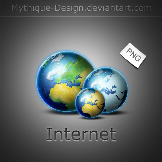 Internet- Globe by Mythique-Design