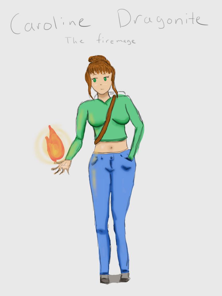 Caroline Dragonite OC and Animation