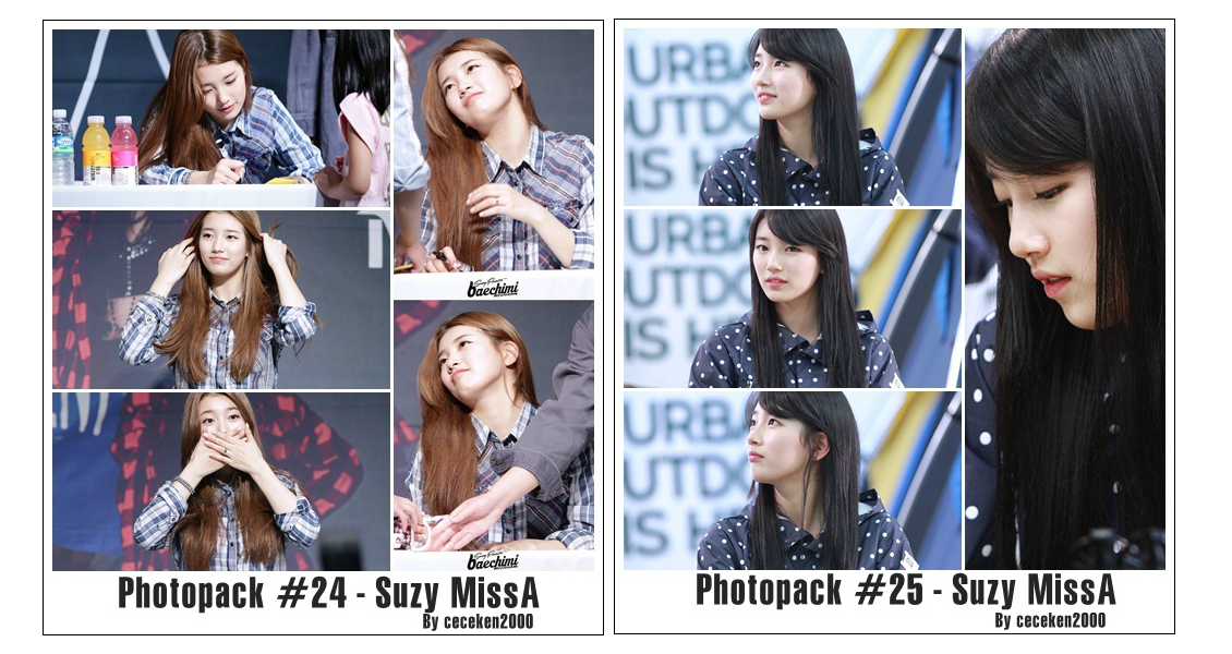 Photopack #24 #25: Suzy(MissA) by CeCeKen2000