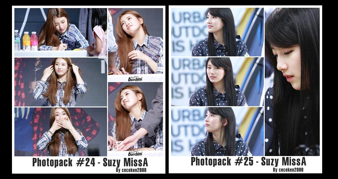 Photopack #24 #25: Suzy(MissA) by CeCeKen2000