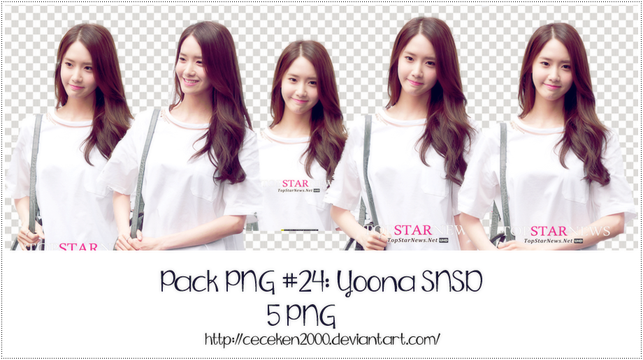 PACK PNG #24: Yoona (SNSD) by CeCeKen2000