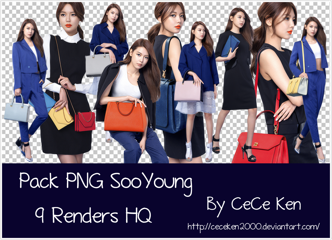 PACK PNG #32: SooYoung Double M by CeCeKen2000