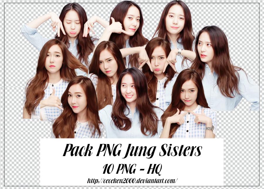 PACK PNG #37: Jung Sisters by CeCeKen2000