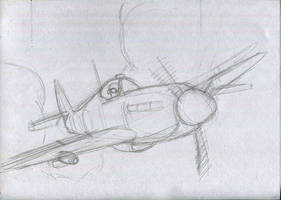 Animations : Spitfire brief animation by bordon