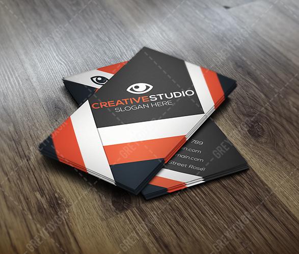 Free Business Card Template by GreyFoxGR by GreyFoxGR