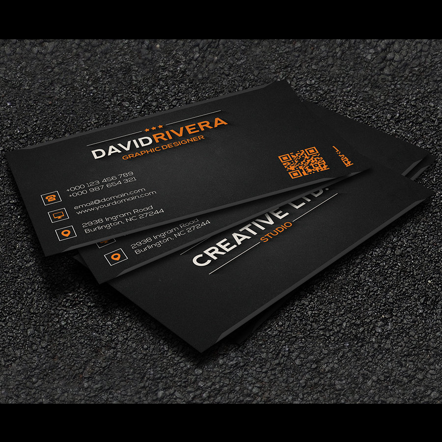 Free - Business Card Template