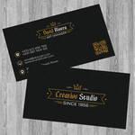 FREE business card modern template