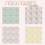 Floral Patterns. by Alittlelame