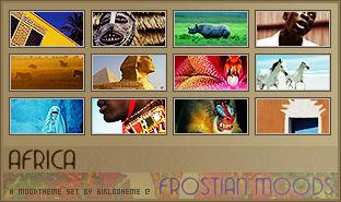 Africa Mood Theme by Girlboheme
