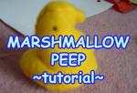 Marshmallow Peep Plush-torial