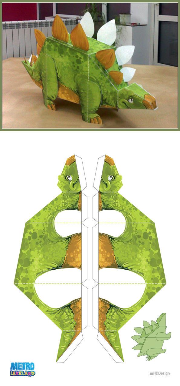 Metrolekeland Papercraft Dino By Berov On Deviantart
