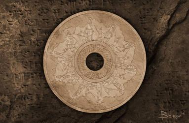 Abaddon - CD Label Design by berov