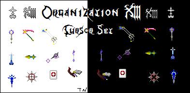 Organization XIII Cursor Set by Talianora