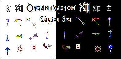 Organization XIII Cursor Set