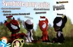 [DL/SFM/GMOD] Symbiote Ponies Pack v1.0