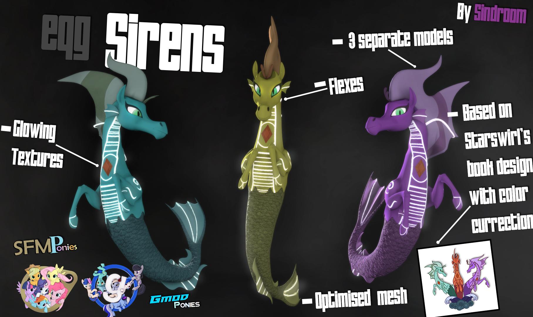 [SFM/Gmod] Sirens 1.3 by Sindroom