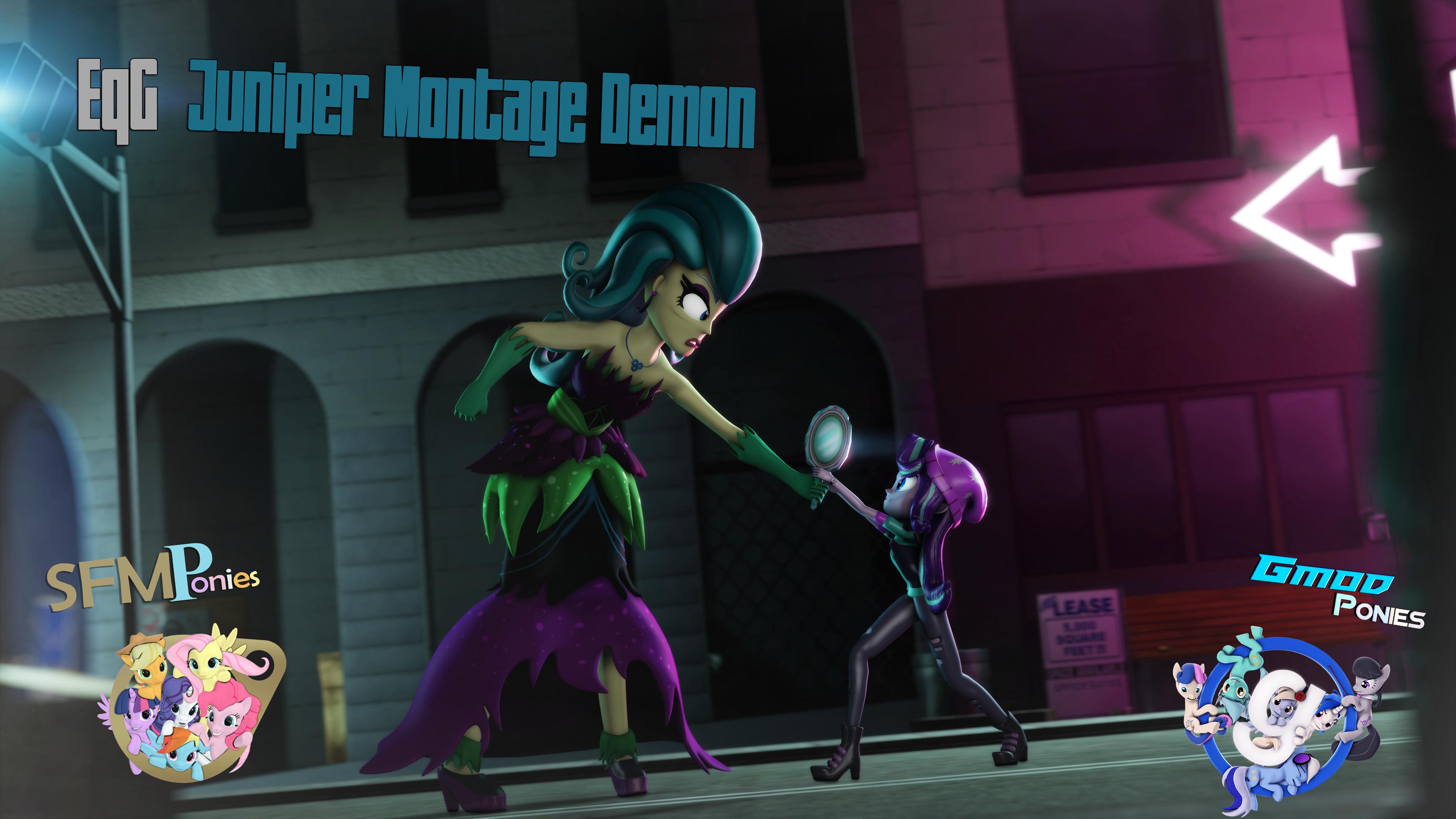 [SFM/Gmod] Juniper Montage Demon by Sindroom