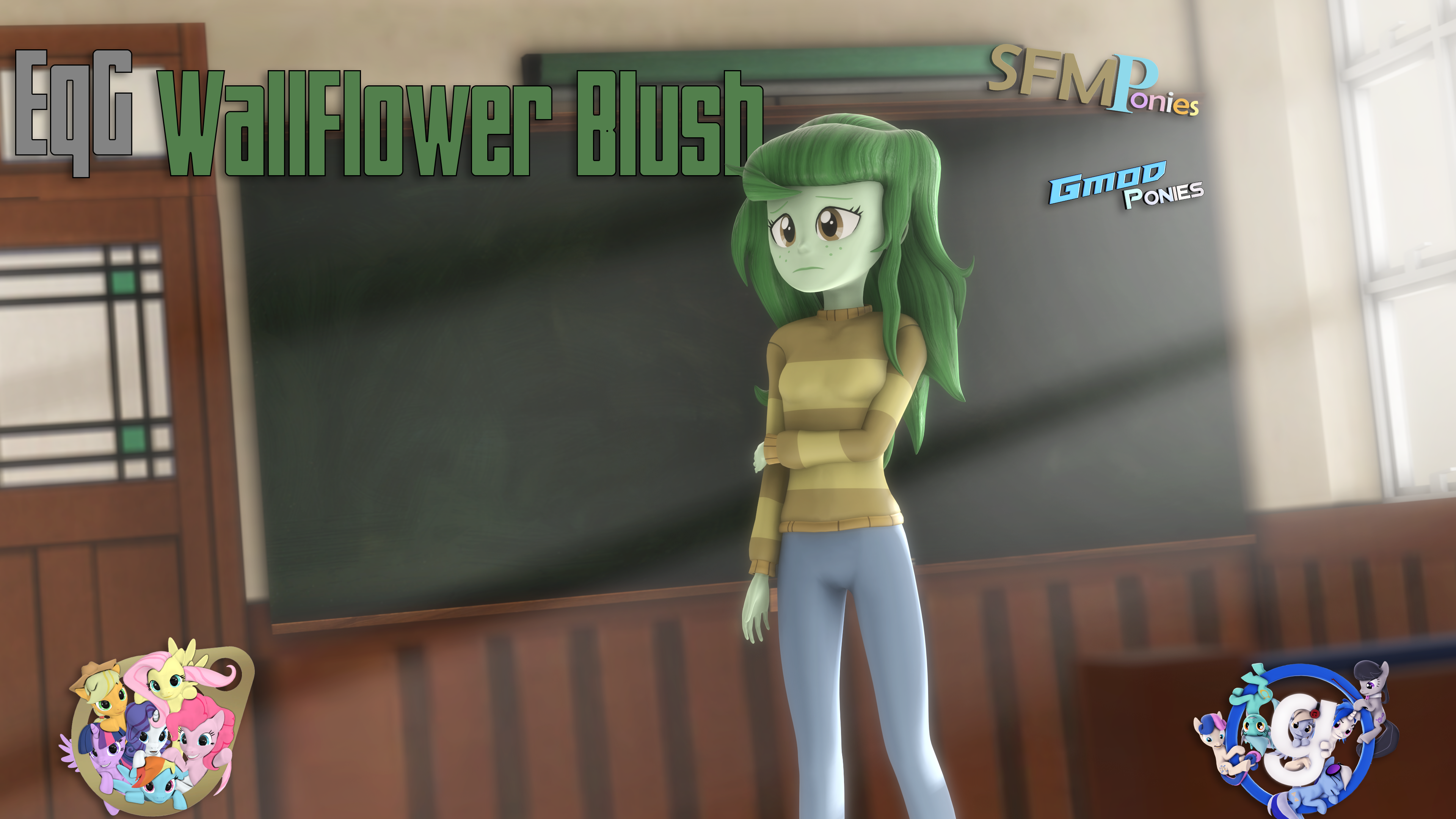 [SFM/Gmod] WallFlower Blush by Sindroom