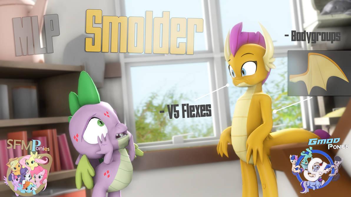 SFM/Gmod] Smolder v1 0 by Sindroom on DeviantArt