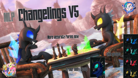 [SFM/Gmod] Changelings V1.0 by Sindroom