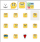 Google Emotocons (Sqaure) for Digsby