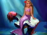 Mermaid Rapunzel