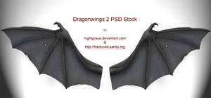 Demon Wings PSD-Stock