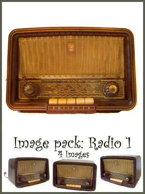Old Radio - Image Pack by nightgraue