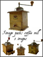 Old Coffee Mill by nightgraue