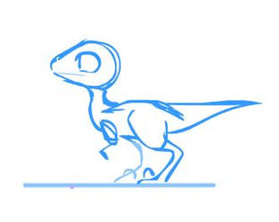 Raptor Jump by Katie-Grace