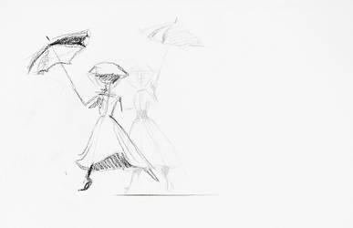 Umbrella Turnaround by Katie-Grace
