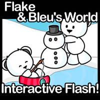 Flake + Bleu's World by JinxBunny