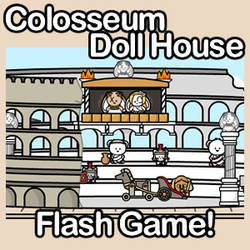 Colosseum Doll House by JinxBunny