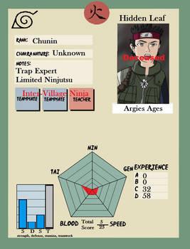 Argie's Ninja Profile
