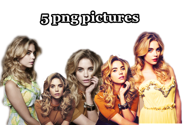 Pack png Ashley Benson by M-Breakout on DeviantArt